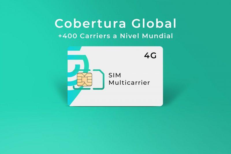 SIM Multicarrier para GPS